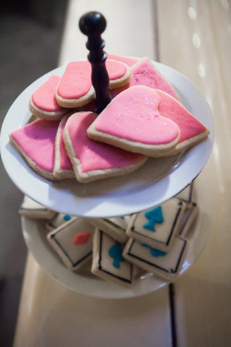 עוגיות לב וקלפים