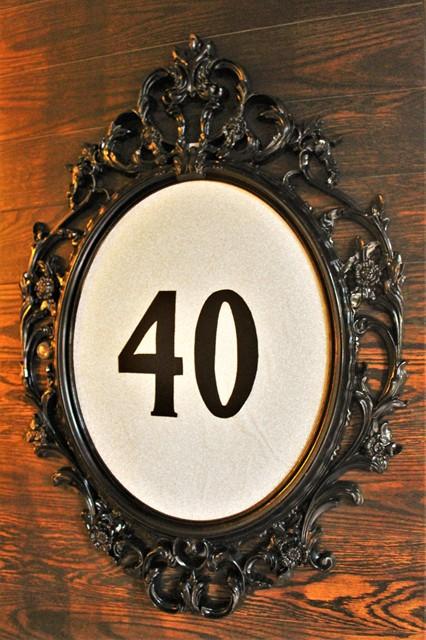 """מסגרת מפוארת עם """"40"""""""