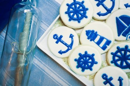 עוגיות בעיצוב ים