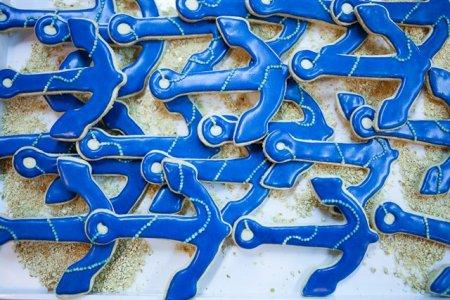 עוגיות בצורת עוגן