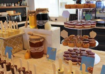 שולחן מתוק ומלוח לראש השנה