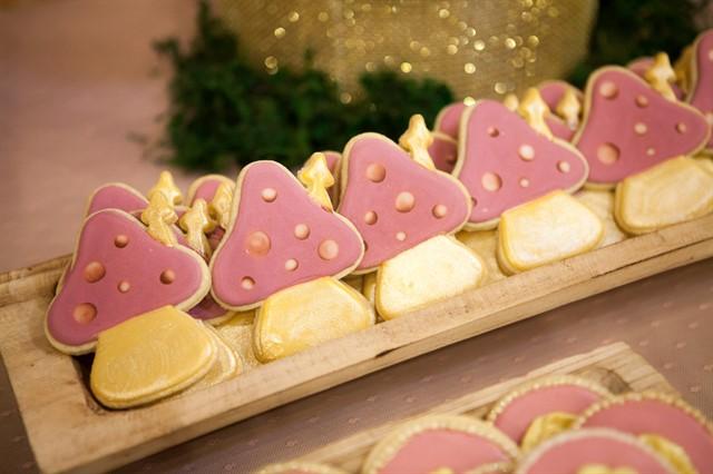 עוגיות בצורת פטריות