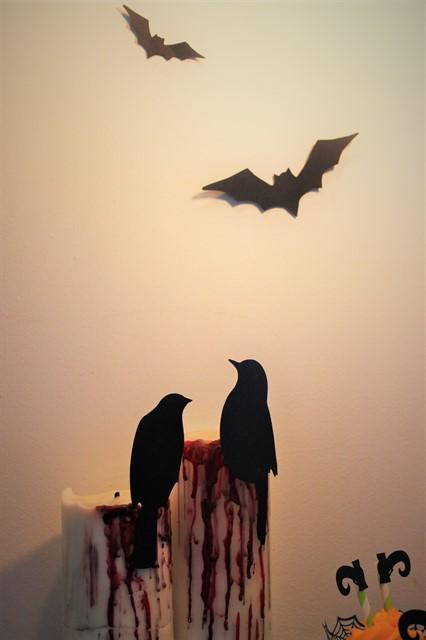 """ציפורים על נרות """"מדממים"""""""