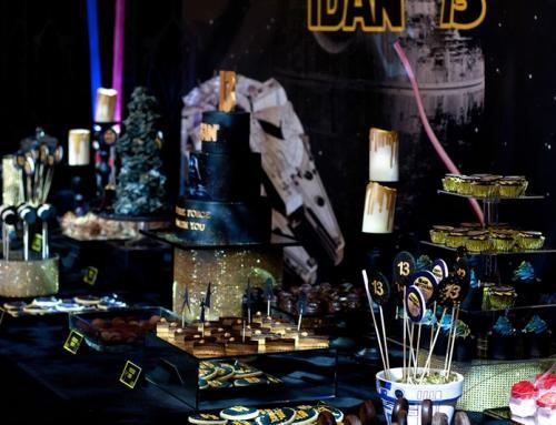 שולחן קינוחים בעיצוב Starwars