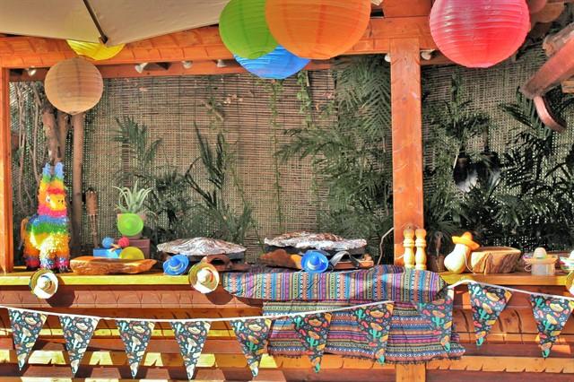 שולחן אוכל מקסיקני